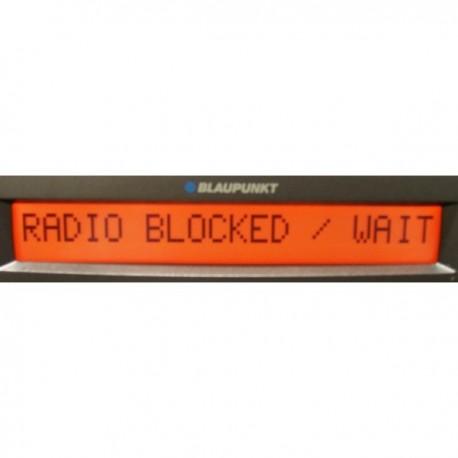 Reprogramming car radio Fiat Alfa Romeo Lancia