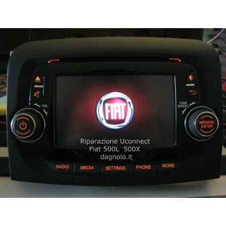 Riparazioni Autoradio Uconnect Fiat 500L Fiat 300