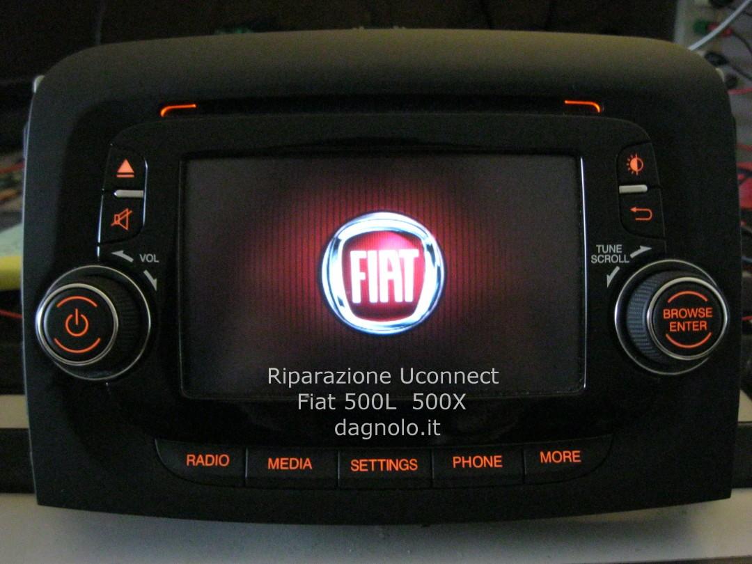 uconnect fiat 500  Riparazione Autoradio Uconnect VP2 Fiat 500L
