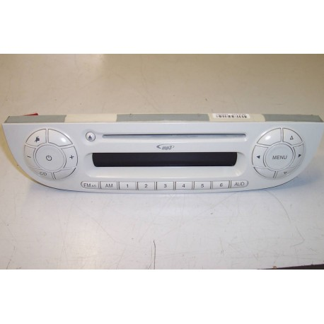 Faceplate car radio FIAT 500